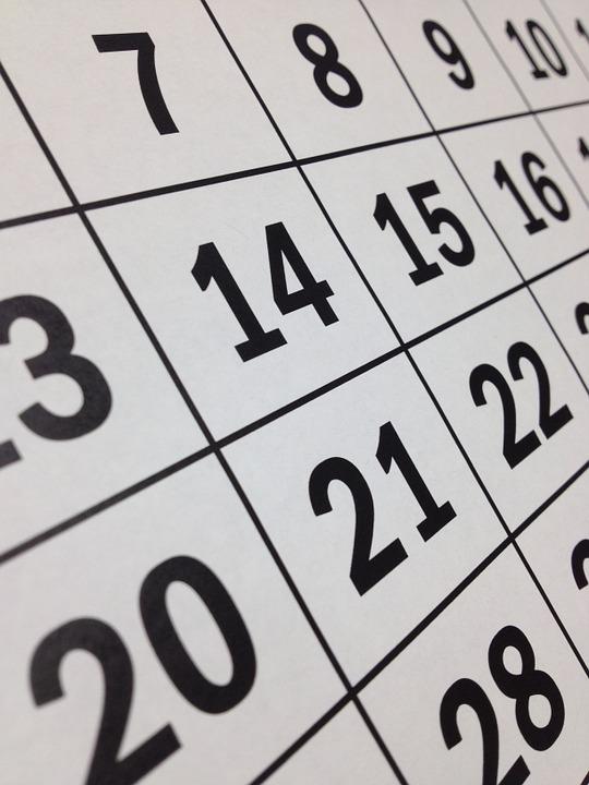 kalender datum kvarskatt restskatt