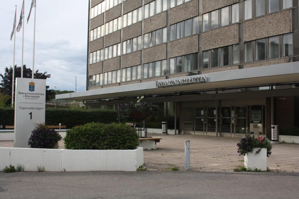 Förvaltningsrätten i Stockholm - En av skattedomstolarna att överklaga till