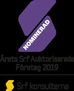 Årets Srf Auktoriserade Företag 2019