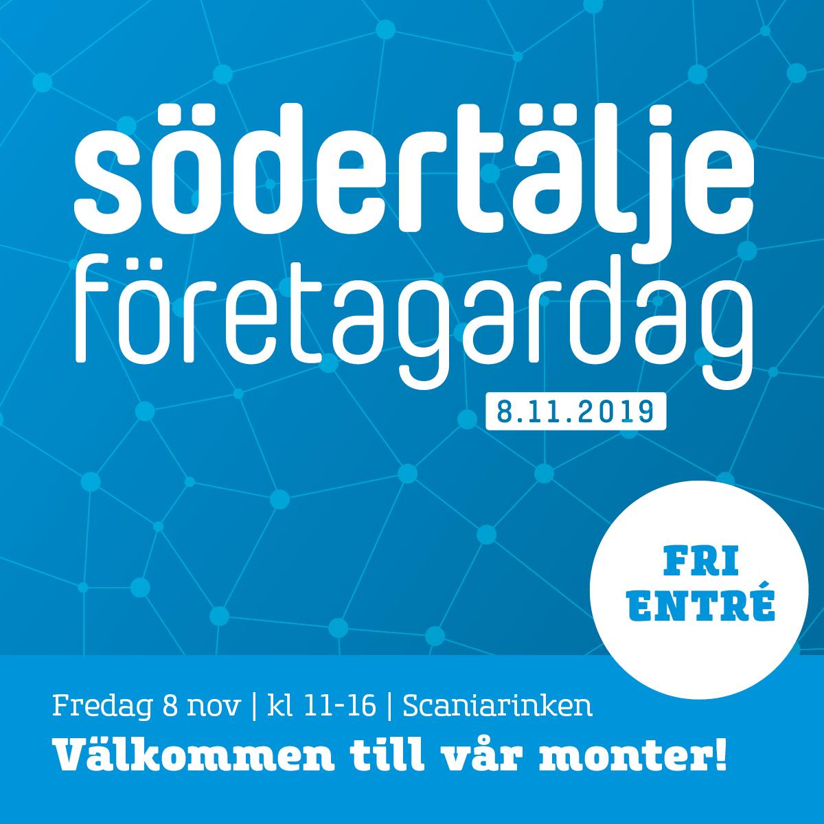 Södertälje Företagardag 8 november 2019