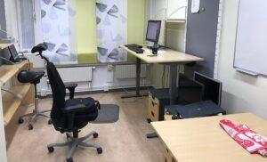 Coronaviruset - Tomma kontor
