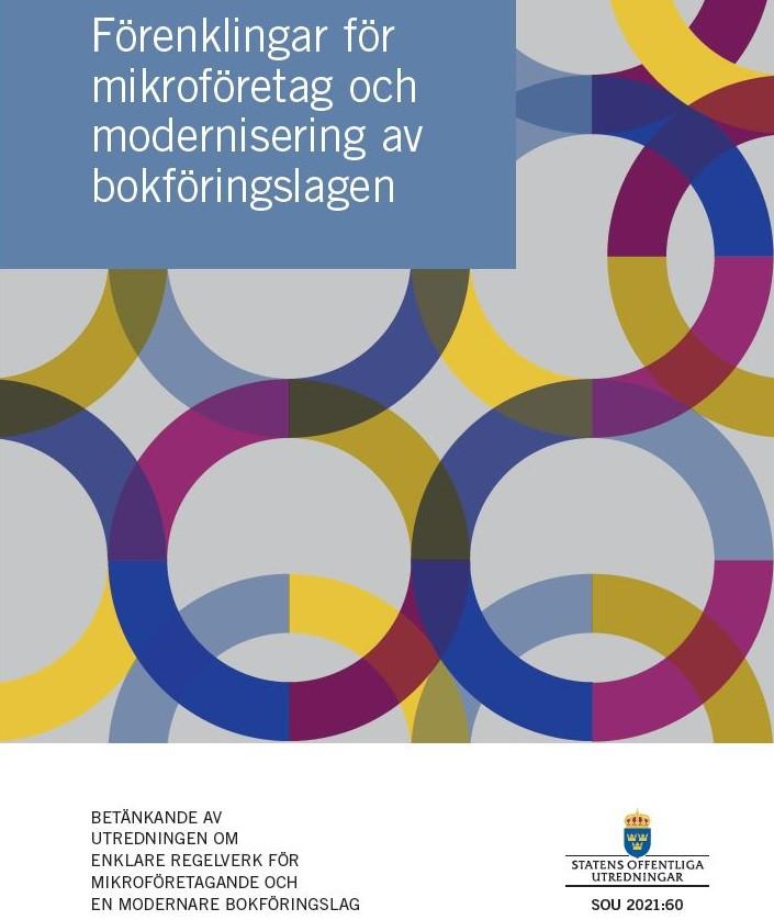 Betänkandet om modernisering av bokföringslagen (SOU 2021-60)