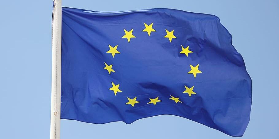 Bild på EU-flaggan, från piqsels.com