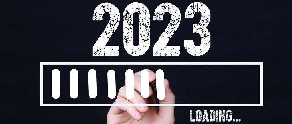 Bild på årtalet 2023